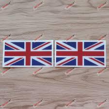 Amazon Com 2x Reflective 4 Uk British Flag Union Jack Decal Sticker Car Vinyl Kitchen Dining