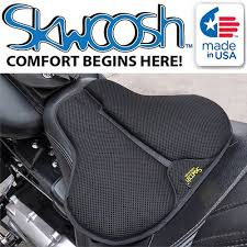 motorcycle seat covers gel cushioned pads