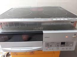 Bếp từ âm Hitachi model 4PFS nội địa Nhật - 77606290