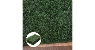 1x Artificial Boxwood Hedge Fake Vertical Garden Green Wall Mat Fence Outdoor Matt Blatt