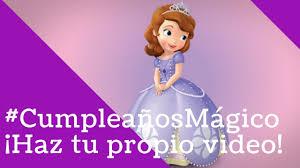 Princesita Sofia Le Desea Un Feliz Cumpleanos A Carolina Youtube