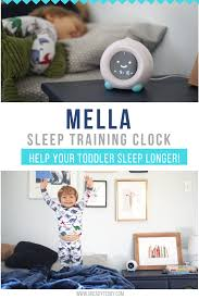 It S Time For More Sleep Mella Sleep Trainer Clock U Ready Teddy Toddler Sleep Training Toddler Night Light Clock For Kids