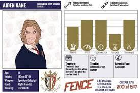 Aiden Kane Fence Comic Wiki Fandom