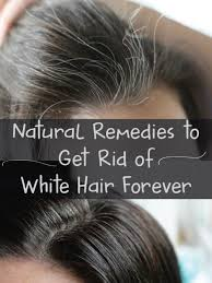 grey hair to natural color permanently