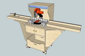 Melly Useful Miter Saw Station Plans