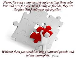 family is like a puzzle family quotes inspirational family quotes