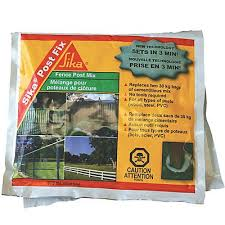 Sika Post Fix Is An Innovative Product Designed For Installing Fence Gate And Signage Posts Easily And Quickl Fence Post Setting Fence Posts Home Depot Canada
