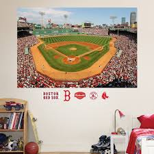 Fathead Boston Red Sox Fenway Park Mural Wall Decals