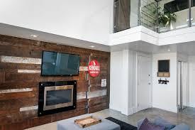 living room wood accent walls