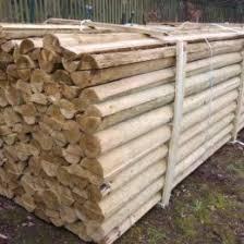 Round And Half Round Timber Weston Sawmill