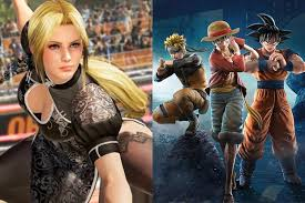 dead or alive and jump force are fighting games flaws