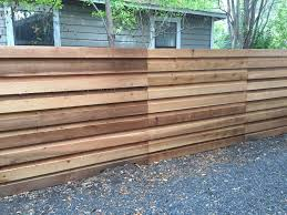 6 H Horizontal Board On Board Cedar Privacy Fence Check Out Www Fence4atx Com To See All Of Our Gorgeous Cedar Fe Modern Fence Design Fence Design Fence Boards