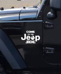 Come To The Jeep Side Decal Sticker Midwest Sticker Shop