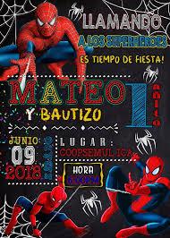 Invitaciones Y Felicitaciones Tarjeta De Cumpleanos Spiderman