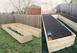 u shaped vegetable garden layout