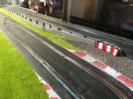 Grass Fencing Some Of The Track Banners Slot Cars Slot Car Racing Slot Car Tracks