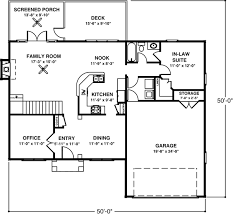house plan 92374 colonial style with