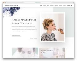 makeup artist template calep