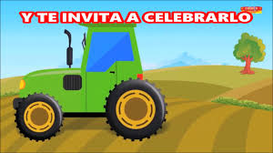 Video Invitacion Tractor Youtube