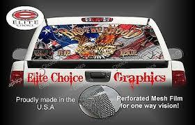 Mi 6007 American Flag Pow Mia Prisoners Of War Bumper Sticker Car Window Decal