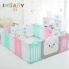 Imbaby Playpen For Children Edible Pp Baby Playground Fence Spliced Playpen Kids Ball Pool Pit For Toddler Babies Toys Play Yard Baby Playpens Aliexpress