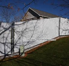 Chain Link Fence Slats On A Slope Faq S
