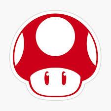Mario Toad Stickers Redbubble
