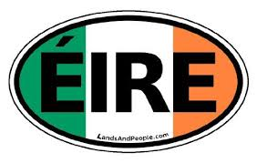 Ireland Eire In Irish And Irish Flag Car Bumper Sticker Decal Oval Read More Reviews Of The Product By Visitin Car Bumper Stickers Bumper Stickers Irish Flag