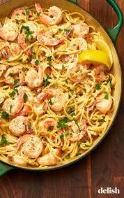Creamy Lemon-Pepper Shrimp Spaghetti ...