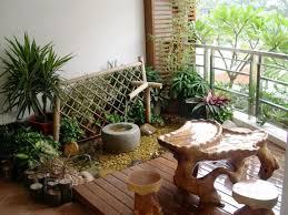 flat terrace garden design leppe