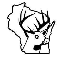 Wisconsin Deer Hunting Car Truck Window Decal Waterfowldecals Com