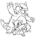 Kleurplaten Pokemon Mega Evolutie Morning Kids