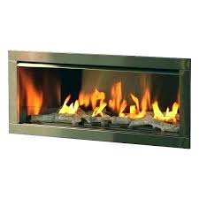 gas fireplace with glass stones xtops