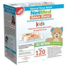 sinus rinse pediatric mixture packets