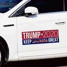 10pcs Car Stickers Donald Trump For President 2020 Bumper Keep America Great Car Decals Auto Motorcycle Car Accessories Car Stickers Aliexpress