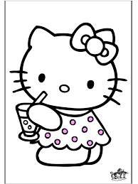 Hello Kitty 28 Hello Kitty Kleurplaten