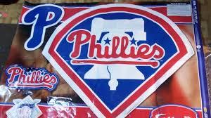 Huge 41 X 38 Philadelphia Phillies Mlb Logo Fathead Vinyl Wall Decal Go Phills 1929734740