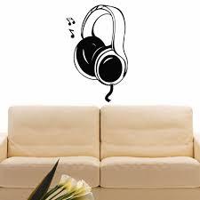 Shop Headphones Music Inspirational Vinyl Wall Art Decal Sticker Overstock 10642600