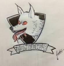 Zombie Wolf Logo Sketch by ZombieWolfdotNet on Newgrounds
