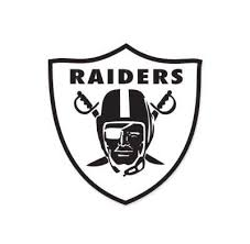 Oakland Raiders Nfl Logo Vinyl Sticker Decal Car Truck Windon Wall Lap Mymonkeysticker Com