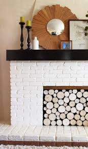 stack of wood logs in your fireplace