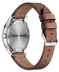 swiss alliance brown leather strap