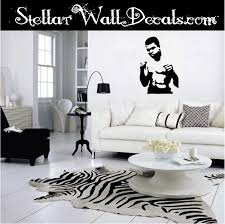 Muhammad Ali Famous Icon Vinyl Wall Decal Wall Mural Car Sticker Swd
