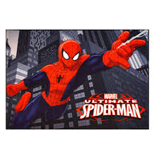 Gertmenian 31003 Marvel Ultimate Spiderman Rug Hd Digital Kids Bedding Room Decor Area Throw Rugs 40 X54 Multi Color Amazon In Home Kitchen