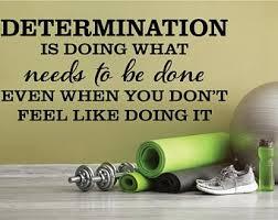 Determination Decal Etsy