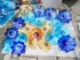 glass decoration wall plates