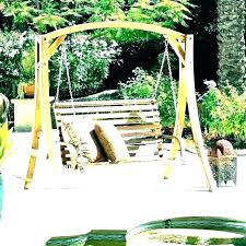 plans porch with stand outdoor swings