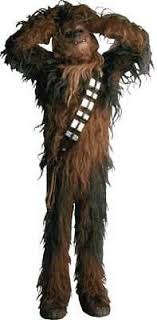 Chewbacca The Wookie Large Window Cling Sticker Decal Star Wars Saga New Ebay