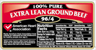 new nutritional labels for meat usda