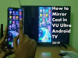 connect realme 2 in vu ultra android tv